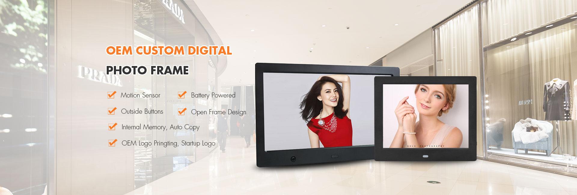 OEM Custom Digital Photo Frame