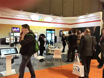 Surcessful show in Integrated Systems Europe 2017!