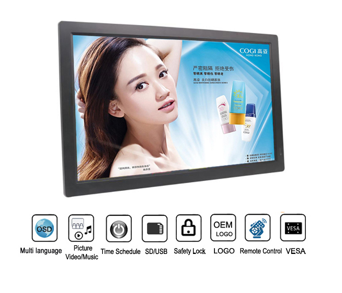 21.5 Inch Full Hd 1080P Digital Photo Frame