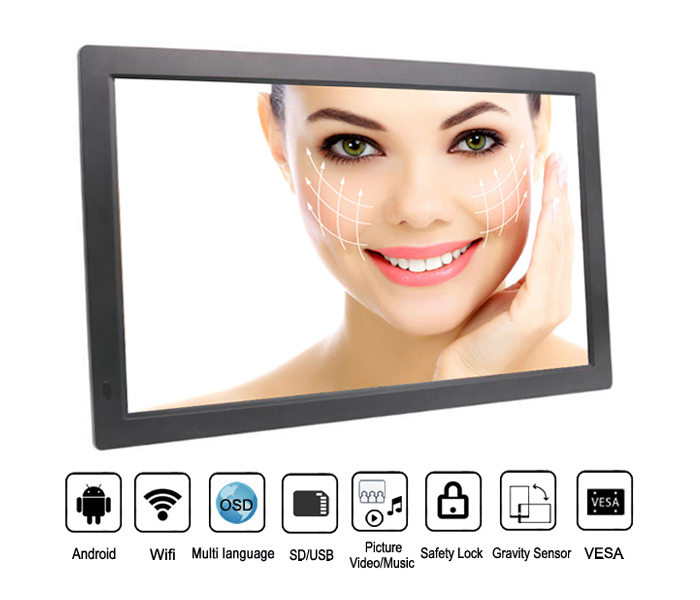 18.5 Inch Wifi Network Wireless 3G 4G Digital Picture Frame
