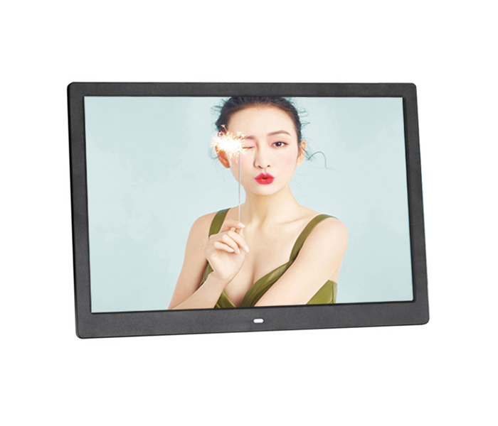 15.4 Inch black Lcd Digital Photo Frame With USB And SD Card