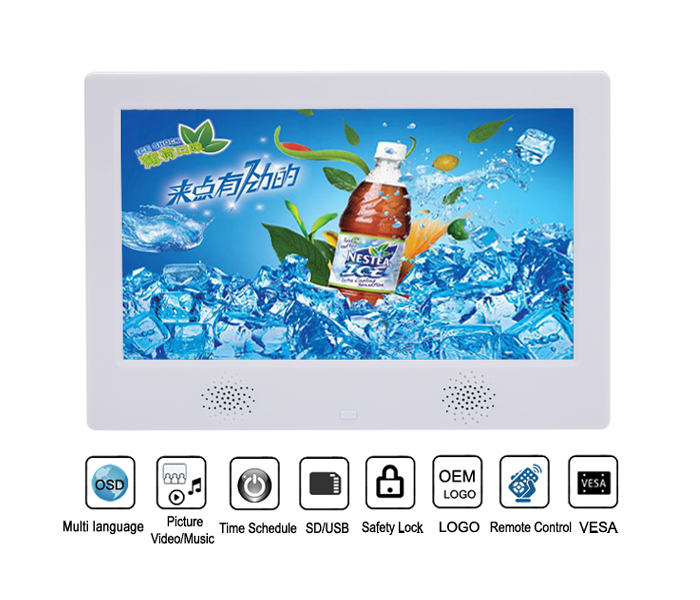 2019 Chinese Suppliers 10'' Good Quality Lcd Multi Function Digital Photo Frames With Mp3 Video