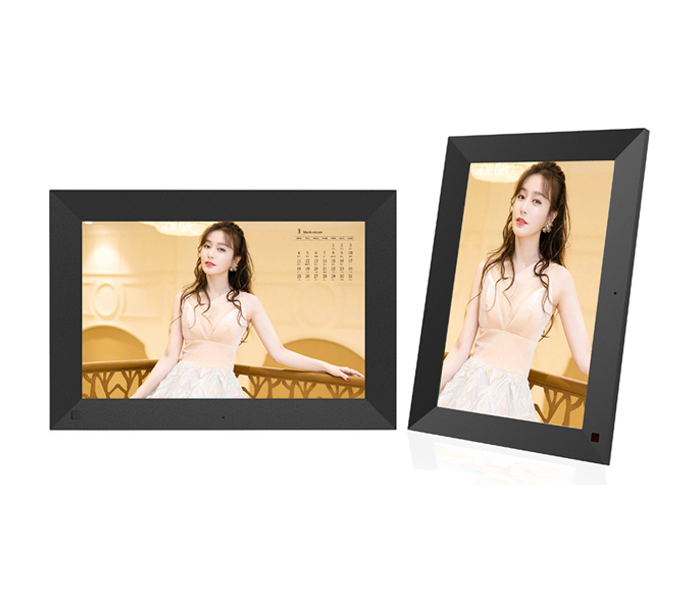 Wifi Cloud 10 Inch Electronic Digital Photo Frame With Touch Screen